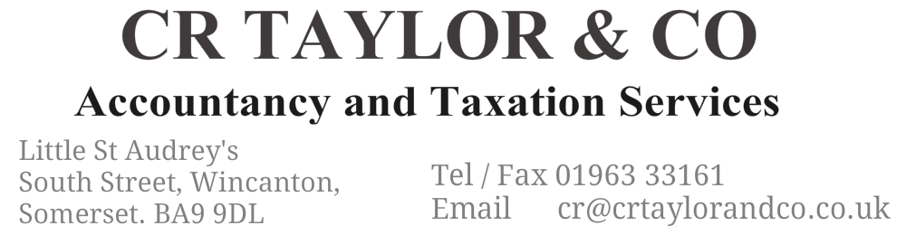 CR Taylor and Co | Accountants in Wincanton | Reviews